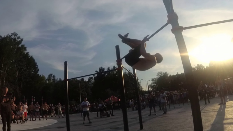 Street Workout Battle Максим Рудометов is Меринов Алексей!