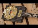 Cigar Box Resonator Guitars ~ Old Time Blues ~ Red Dog Guitars USA