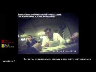Тягнибок про Кличко и Яценюка. скрытая камера