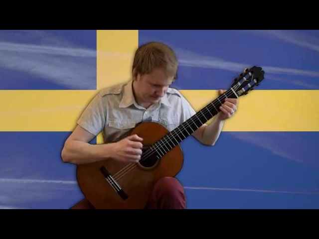 Minecraft - Sweden (Calm 3, Acoustic Classical Guitar Cover by Jonas Lefvert)