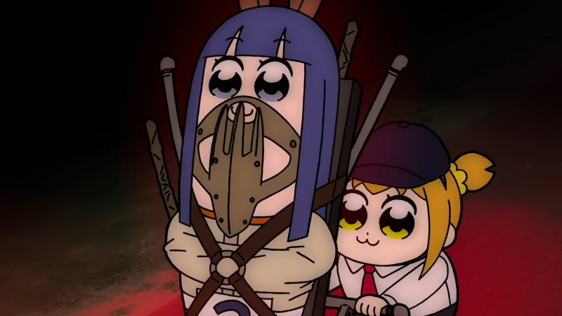 JRA x Pop Team Epic (RAW) [Poputepipikku / Попсовый эпос]