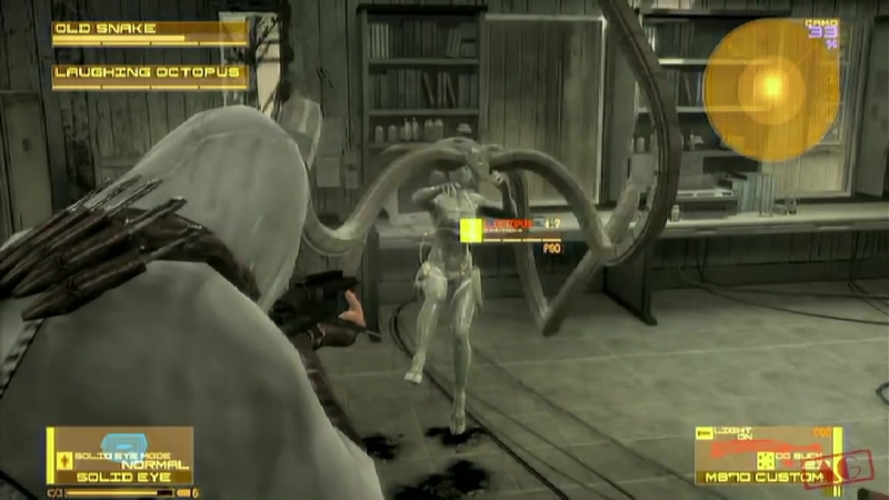 [WatchMeBeibeh] Metal Gear Solid 4 - The Boss Extreme Part 17 (Laughing Octopus)