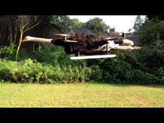 Летающий страус - изобретение голландского ученого