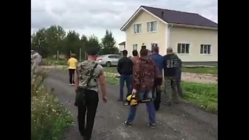 Конфликт в Ропшинских Горках (03092018)