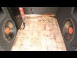 Делаем короб для Mystery 12 Сабвуфер своими руками (ч2 короткая)