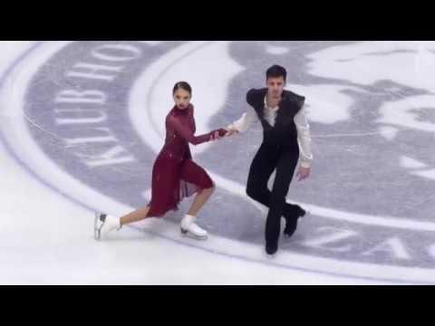 Annabelle MOROZOV / Andrei BAGIN RUS Free Dance 2018 Golden Spin of Zagreb