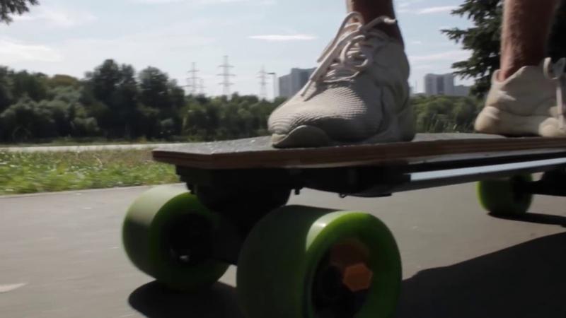Новинка! Электрический скейтборд (лонгборд) Xiaomi Acton X1 - на что способен малыш