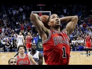 nba 2k13 Derrick Rose Top 10 Dunks
