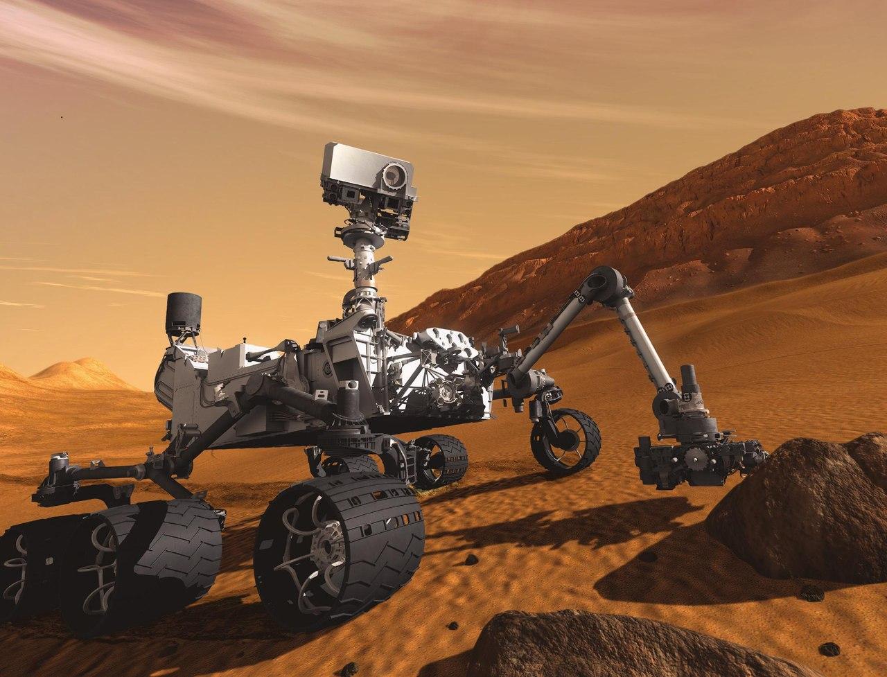 Живлення робота на Марсі Curiosity