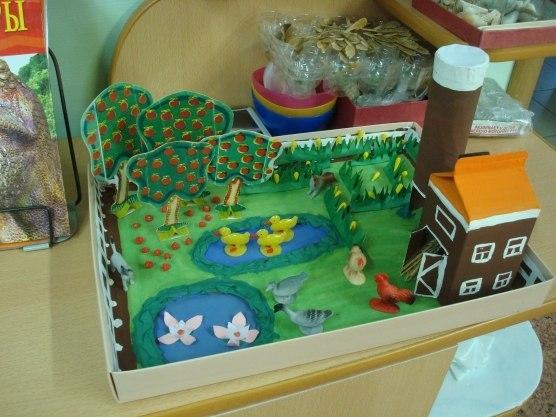 Детский макет фермы своими руками