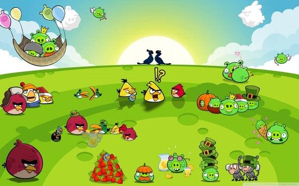Игра энгри бердз на андроид бесплатно бердз