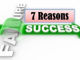 Amazing 7 Reasons of Failure  Why You Not Succeed in Life