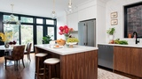 Kitchen Makeover A Light-Filled Gathering Place House &amp Home