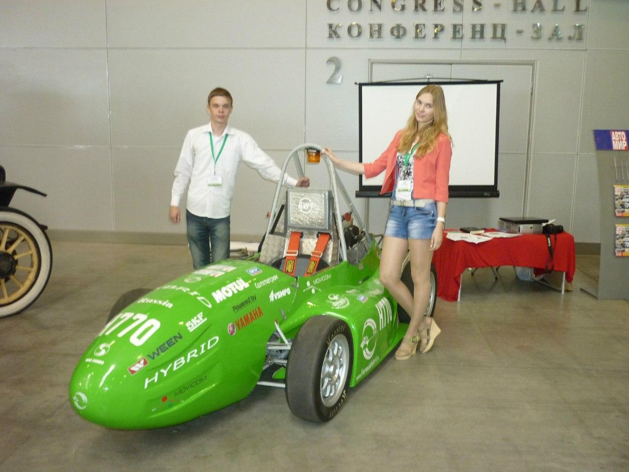 Электромобилиада -2013 Формула Гибрид МАДИ