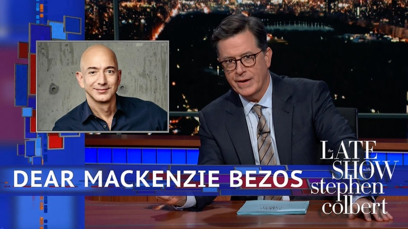 Stephens Message For MacKenzie Bezos