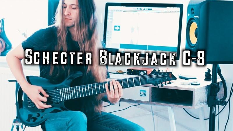Schecter Blackjack C-8