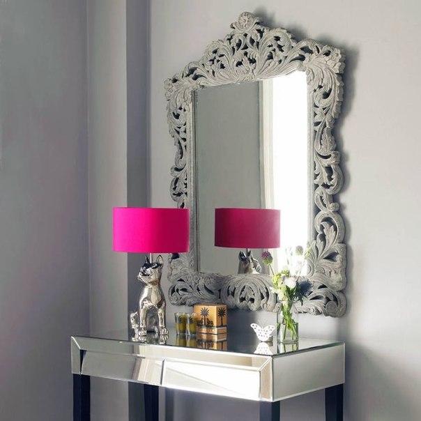 Идеи для дизайна зеркало в старинной