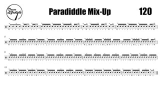 Paradiddle Mix Up