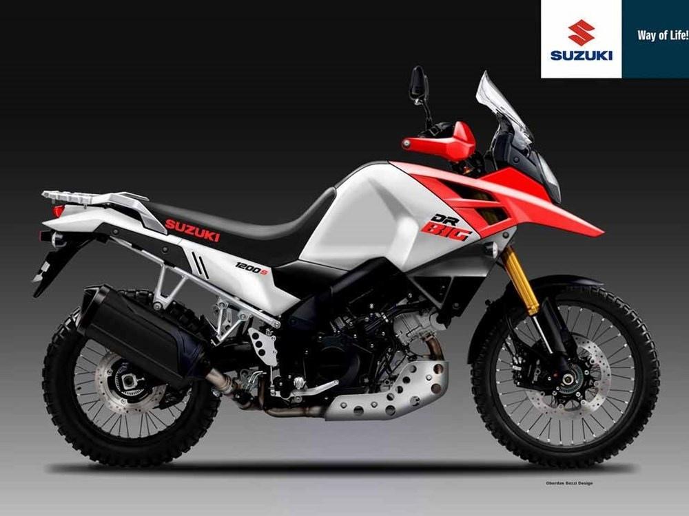 Мото слухи: В конце года Suzuki могут представить V-Strom DR BIG