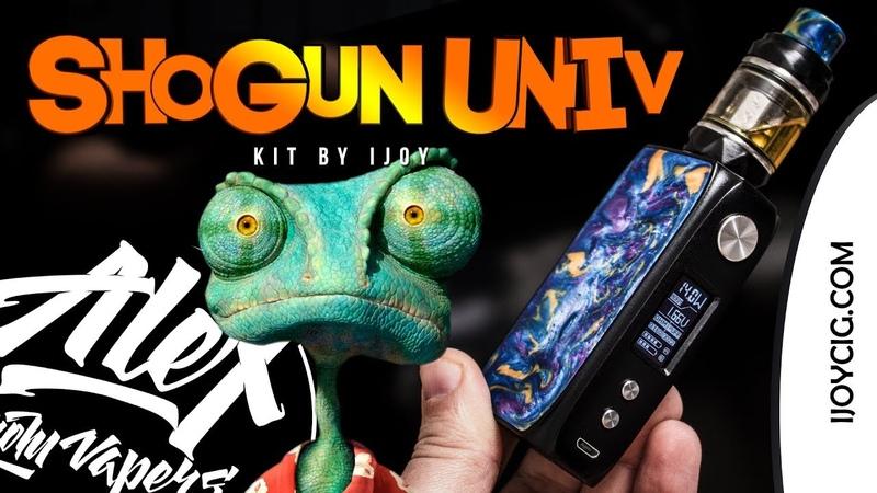 SHOGUN UNIV 180W KIT l by iJOY l Alex VapersMD review 🚭🔞