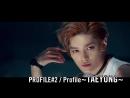 Taeyong (NCT) Video Profile @ Yahoo Japan