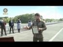 Открыли автомобильный мост через реку Терек на автодороге Ищерская - Грозный