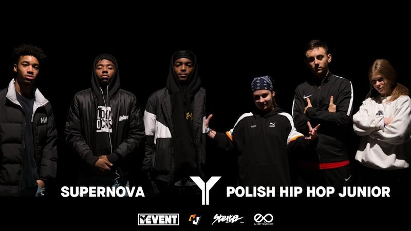Young Battle 2k18 | 1/4 Final 3vs3 Hip Hop | Supernova vs Polish Hip Hop Junior