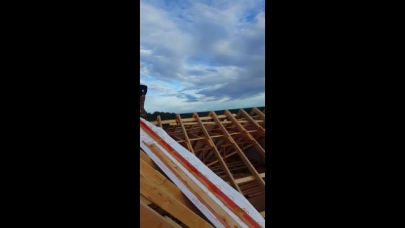 крыша 12 метров