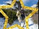 Konnye progulki v YAlte zimoj gory