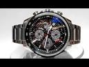 Casio Edifice EFS-S540DB-1A Solar powered Sapphire watch video 2018