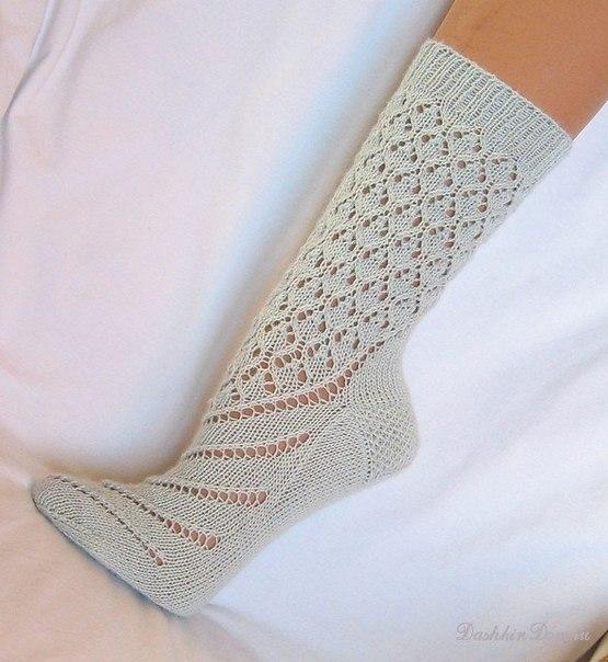Очень красивые носочки (3 фото) - картинка