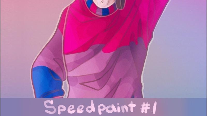 Speedpaint 1. Rocky (one of the OC's)
