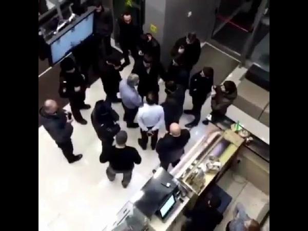 Ингуши в здании ТНТ по поводу оскорблений Camedy woman