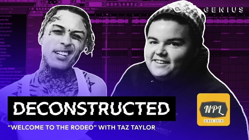 """Разбор трека Lil Skies Welcome To The Rodeo"""" с Taz Taylor Озвучка NPL"""