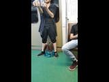 Жонглер в метро