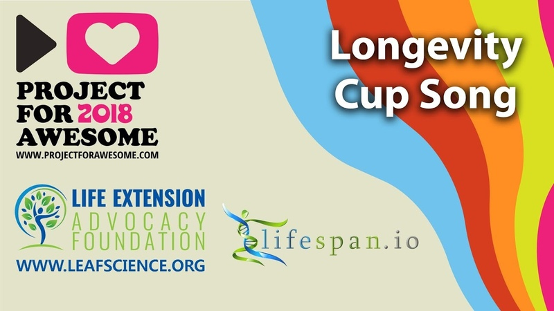 Longevity Cup Song by Elena Milova in support of Life Extension Advocacy Foundation at P4A2018