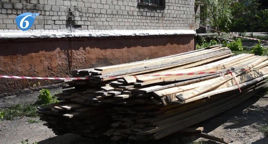 Ремонтно-восстановительные работы жилого фонда, пострадавшего в результате урагана