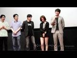 2013.7.6 감시자들 무대인사 정우성 한효주 &#4