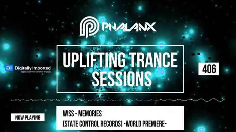 DJ Phalanx - Uplifting Trance Sessions EP. 406 (DI.FM) October 2018
