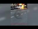 В Питере подожгли припаркованную на Васильевском острове машину