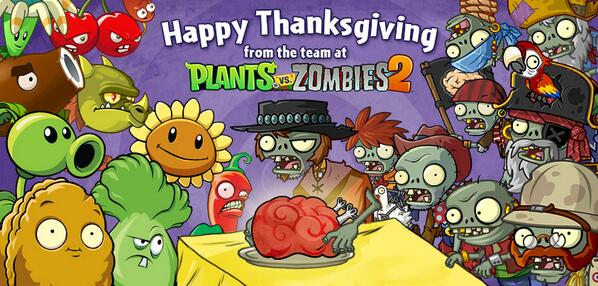 Растения против зомби 2 plants vs zombies 2