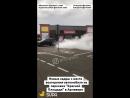 Новые кадры горящего авто у Красной Площади 15.07.18