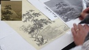 Copy MA Yuan's Landscape on Silk 2/3 Генри Ли