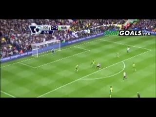 Тоттенхэм - Норвич 2-0 (14 сентября 2013г,Чемпионат Англии)
