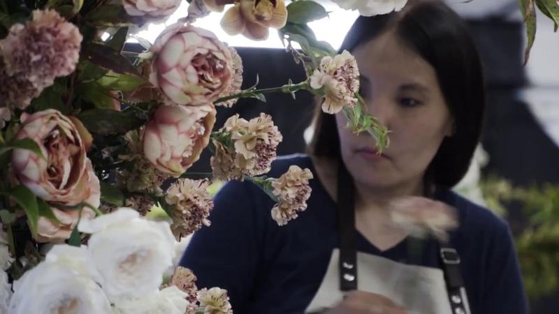 Мастер-класс по свадебной флористике
