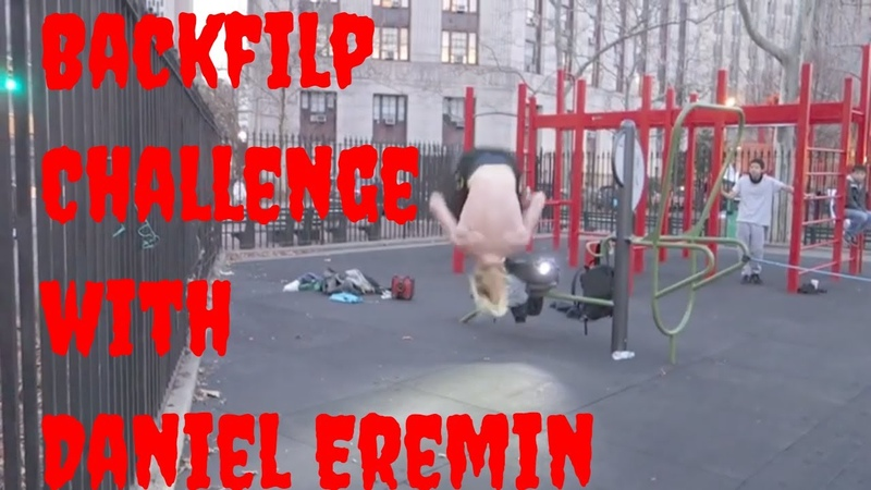 Backflip Challenge with Daniel Eremin