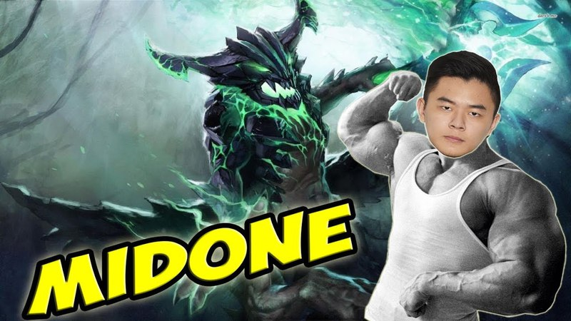 Secret Midone extra strong Outworld Devourer Dota 2 Highlights