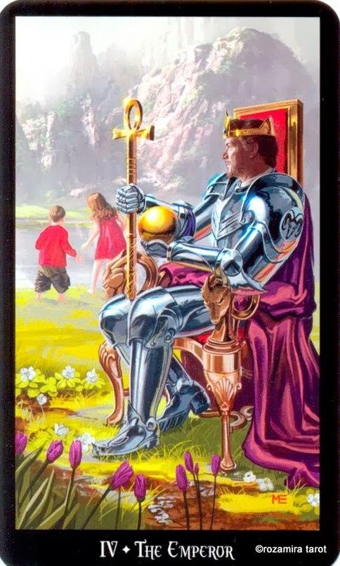 Император символика Колдовское таро