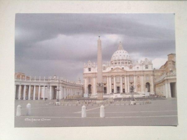Сколько идет открытка из ватикана в россию 46