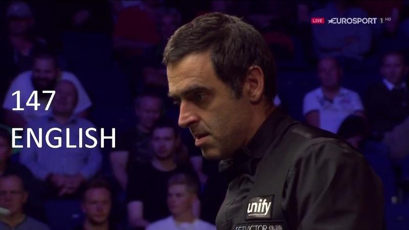 Ronnie O'Sullivan 15th MAXIMUM 147 English Open 2018 [HD]